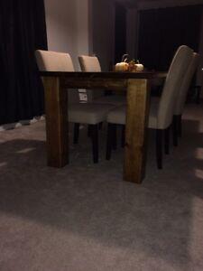 Hand made Solid pine harvest table  Belleville Belleville Area image 3