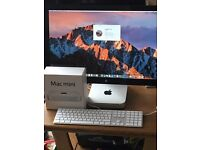 """Mac Mini + apple 27"""" thunderbolt display"""