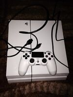 Play station 4 white limited edition or trade to macbook air