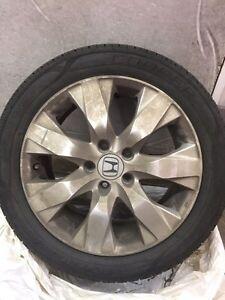 "Honda 17"" new tires"