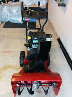 Almost New Toro Power Max 724 OE Snow Blower