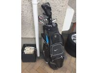 Mens Nike Golf Bag with Clubs £20