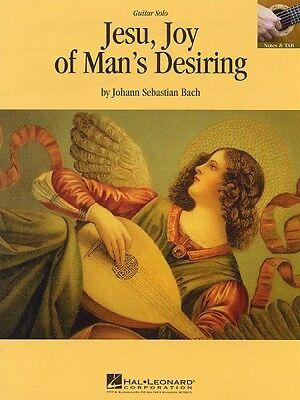 Jesu Joy of Man's Desiring Sheet Music Guitar Solo Guitar Sheet NEW 000663020
