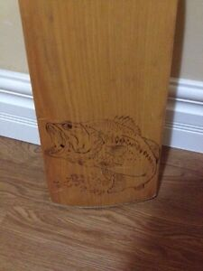 Hand crafted canoe paddles and burning  Belleville Belleville Area image 2