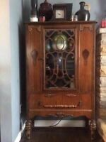 'William and Mary' Display Cabinet