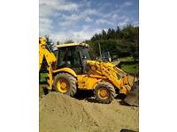 Digger and driver for hire