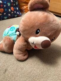 V tech crawling bear