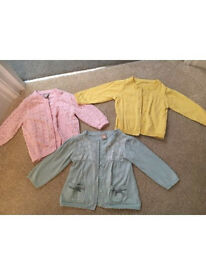 Baby girl's cardigans - 3-6 months