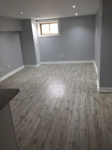 1 bedroom basement apartment - Brand new ( Available March 1st)