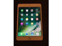 iPad mini 4 16gb in gold