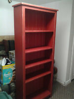 Custom handmade bookcase