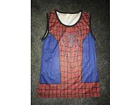 Spider-Man running shirt - large.