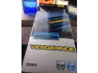 Corsair CMZ8GX3M1A1600C10B Vengeance 8 GB DDR3 RAM 1600 Mhz Blue