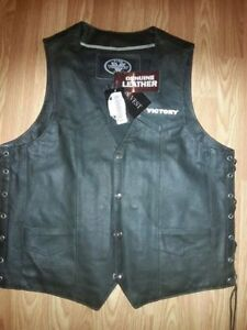 Leather Victory Vest