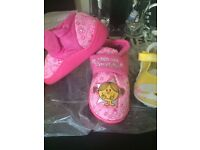 Brand New Labelled Little Miss Slippers