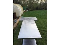 Cheap work top stainless steel for restaurants take away, catering equipment