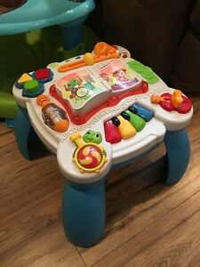 Evenflo Exersaucer and Leapfrog stand station  Cornwall Ontario image 2