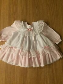 Worn once for a photograph beautiful baby's dress