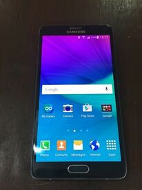Samsung galaxy note 4 . 32 Gb unlocked condition is excellent