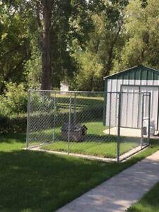 10 x 10 Dog Enclosure