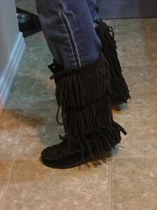 New Designer Boots-  Ladies size 7  - Ladies size 8 Strathcona County Edmonton Area image 6