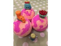Shopkins hidden toy bath bomb