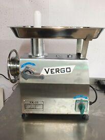 Brand new Vergo TK22 meat Grinder/ mincer