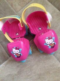 Girls Hello Kitty starter skates.