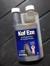 Kof Eze Supplement NEVER USED
