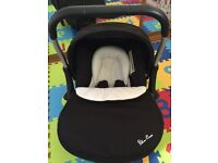 Silver Cross Pram & Car Seat (+isofix base)