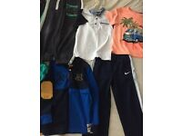 Bundle of boy clothes size 7/8 in excellent condition