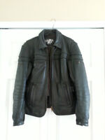 Ladies Leather Jo Rocket Motorcyle Jacket - Size Small