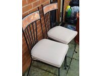 Barker & Stonehouse outdoor/conservatory chairs