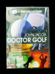 Doctor Golf DVD - John Jacob - 4 Discs [New]
