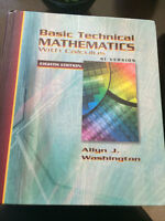 Basic Technical Math with Calculus SI Version