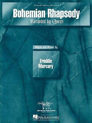 Bohemian Rhapsody Sheet Music Piano Vocal Queen NEW 000353358