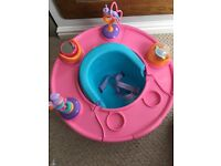 Bumbo type seat/activity seat/high chair