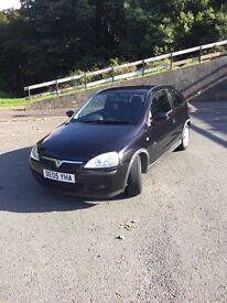 Vauxhall corsa 1.2 l 16V SXI