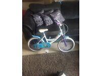"""16"""" kids frozen bike"""