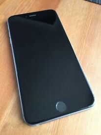apple iphone 6 plus + black space grey 64gb gig vodafone can unlock open to any