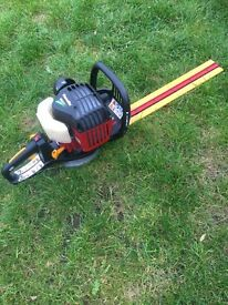 Petrol hedge trimmer cutter clipper Homelite very good condition same as Ryobi double edge blade