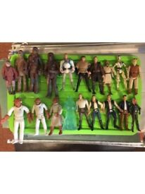 Star Wars figures