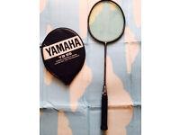 Badminton Yamaha carbon composite racket, bargain £25,I'v got some other rackets available