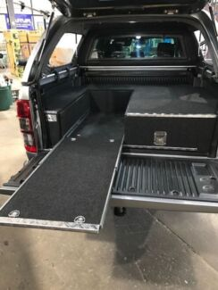 LOW DOWN SLIDE WITH SINGLE DRAWER FOR DUAL CAB UTES - GET 20% OFF