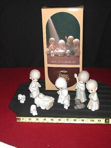 Precious Moments Christmas Nativity Set London Ontario image 3