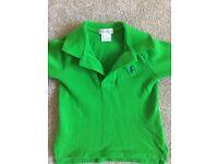 Toddler Ralph Lauren long sleeve polo shirt