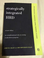 """Strategically Integrated HRD"" Textbook"