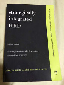 """""""Strategically Integrated HRD"""" Textbook - *REDUCED*"""