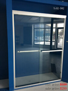 Glass Shower Door $150!  Sliding Shower Doors $299 only!