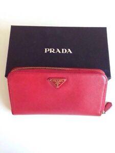 REDUCED PRICE! Red Prada wallet Kitchener / Waterloo Kitchener Area image 1